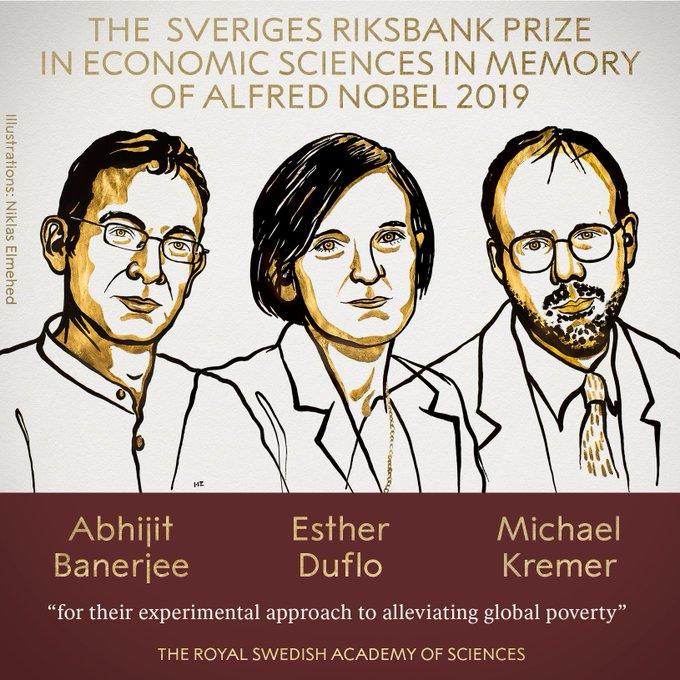 ¿Qué han aportado Banerjee, Duflo y Kremer para ganar el Nobel de Economía?
